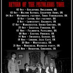 Return Of The Pistoleros UK tour