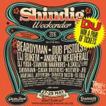 win free tickets to Shindig Weekender