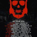 Dub Pistols Winter Tour 2016 Dates