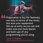 TIPS ON PREPARING TO PLAY A FESTIVAL
